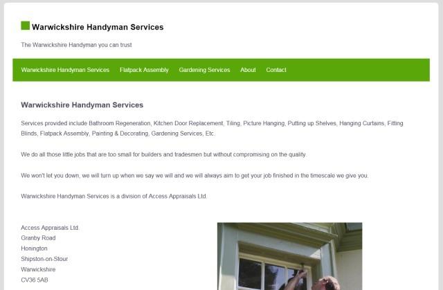 Warwickshire Handyman Local Listings