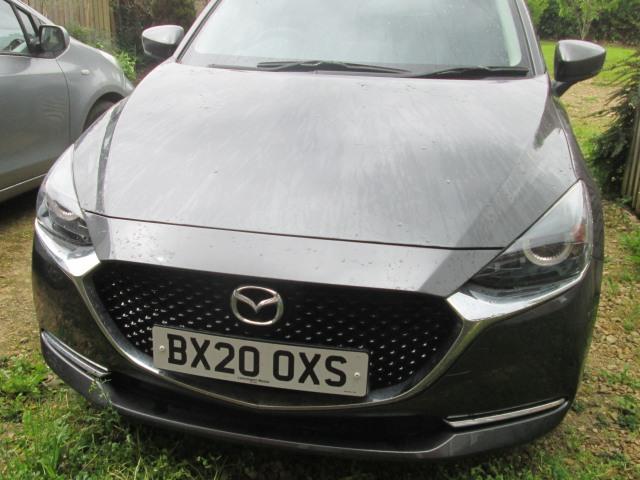 Machine Grey Metallic Mazda 2 Sport Nav