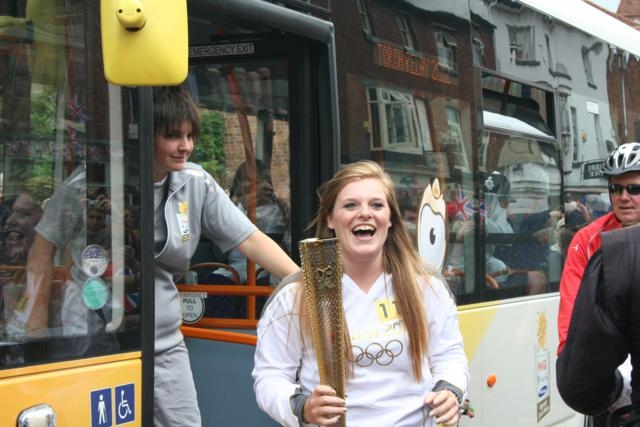 Olympic Torch Stratford-upon-Avon