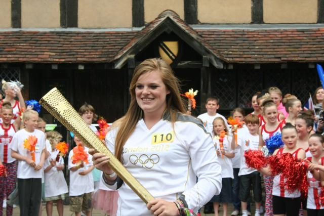 Olympic Torch Shakespeare's Birthplace