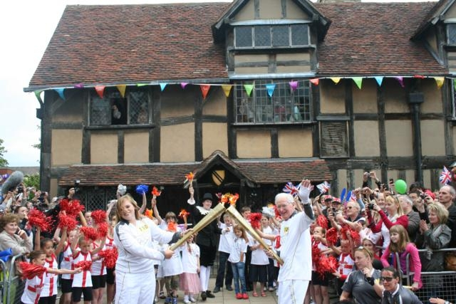 Olympic Torch Relay Stratford-upon-Avon